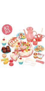 girl cake toys