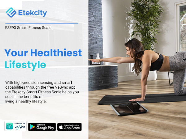 Etekcity scales help you see all the benefits of living a healthy lifestyle