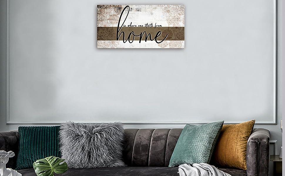 home art for living room decor