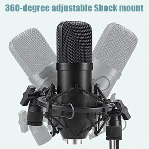 Studio Microphone recording & stage microphones recording microphone for singing