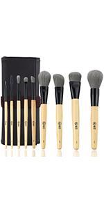 wood makeup brushes