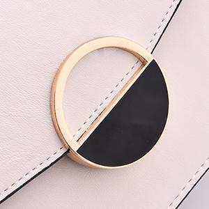 Round decorative buckle