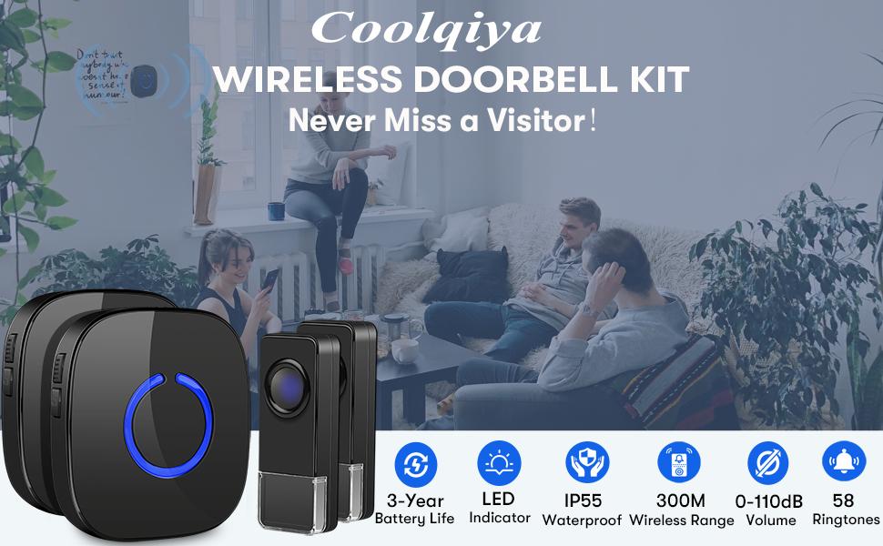 doorbell kit coolqiya
