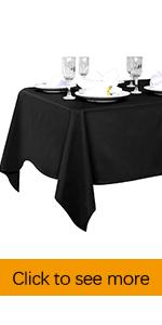 polyester tablecloths