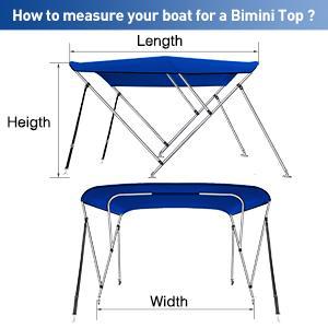 how to measure your bimini top