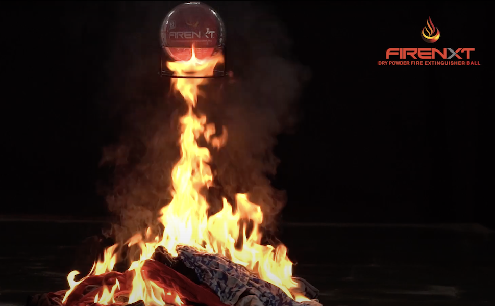firenxt fire extinguisher ball - automatic