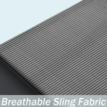 Breathable sling fabric