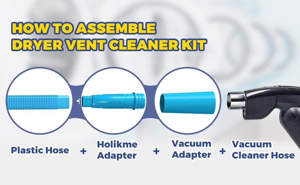 dryer vent vacuum attachment