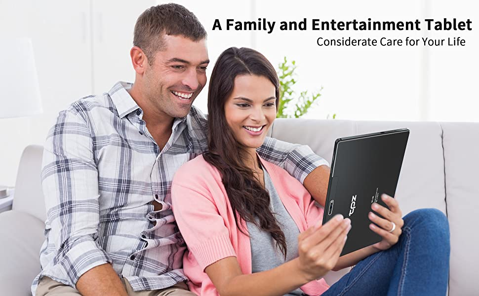 A family and entertainment tablet for kids, adults and all ages