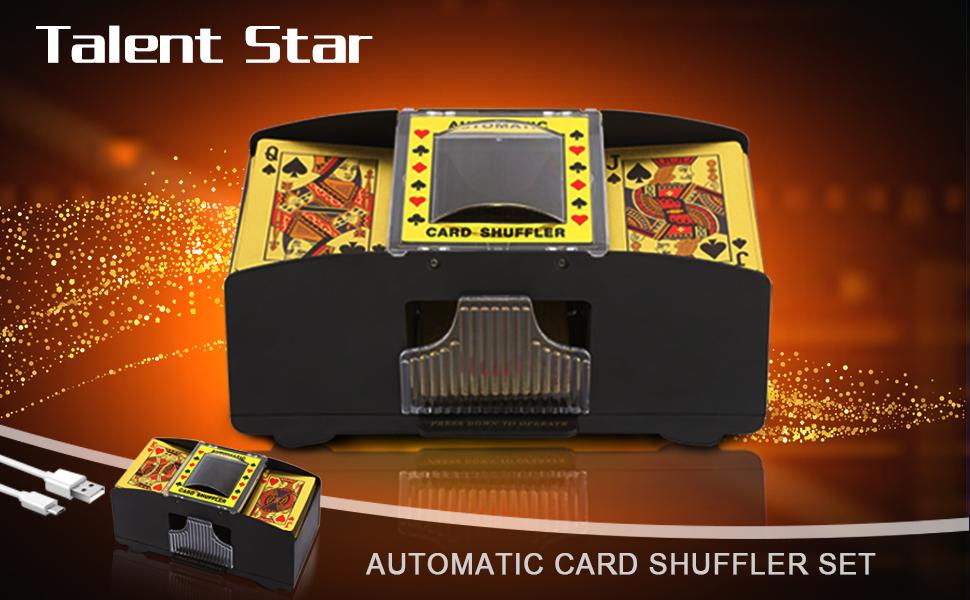 automatic card Shuffler 2 deck card
