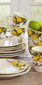 Lemon Dinnerware