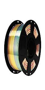silk rainbow color change pla