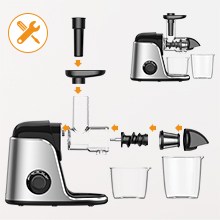 juicer machines vegetable and fruit 8