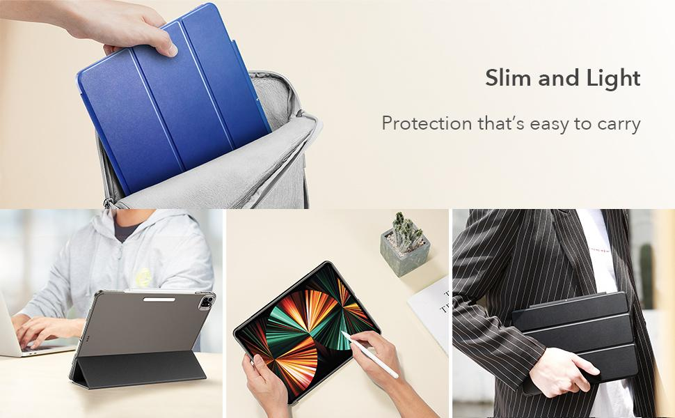 ESR supreme Trifold Case Compatible with iPad Ge 5th Inch ...