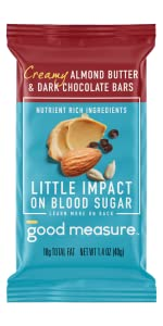 Almond Butter amp;amp; Dark Chocolate Blood Sugar-Friendly Low-carb Snack Bars