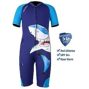 boy shorty wetsuit