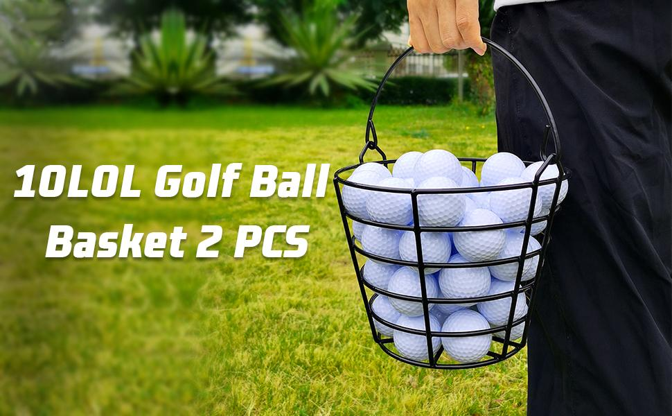 10L0L Golf Ball Basket 2 PCS
