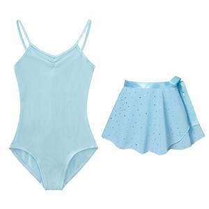 Ballet dress for toddler girls baby blue leotards ballet dance ballet clothes