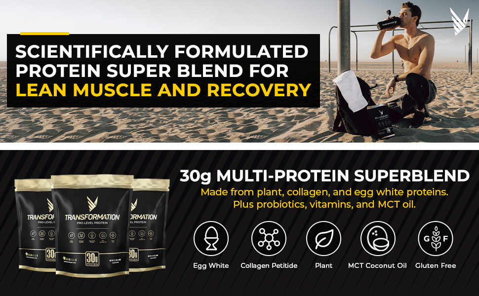 Protein Super Blend For Lean Muscle and Recovery