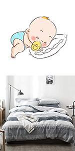 chic white gray white bedding sets