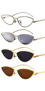 4 color cat sunglasses