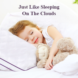 Sleeping on the clouds