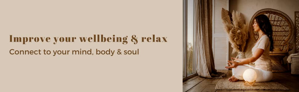 happyhaves full moon to improve wellbeing and relax