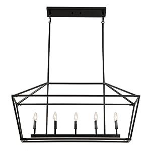 black chandeliear pendant