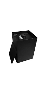 Stealth Safes B3000 Electronic Lock Floor Safe In Ground Storage Made in USA