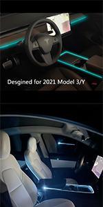 Tesla neon lights Tesla interior lights
