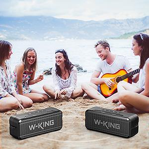 True Wireless Stereo Speaker
