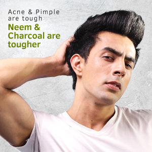 Acne & pimple are tough neem & Charcoal are tougher