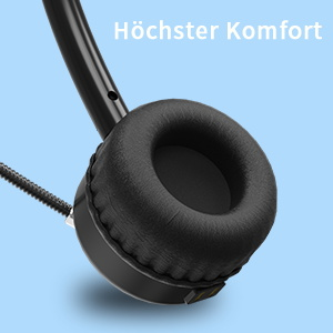 Headset mit Mikrofon Kabellos