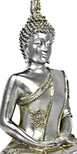 Bellaa Buddha Statues Sitting Meditating Blessing Dhyana Mudra