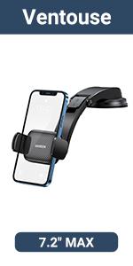 Support Téléphone Voiture Porte Smartphone Portable Voiture