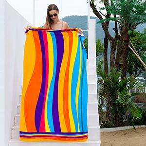 Oversized beach towel