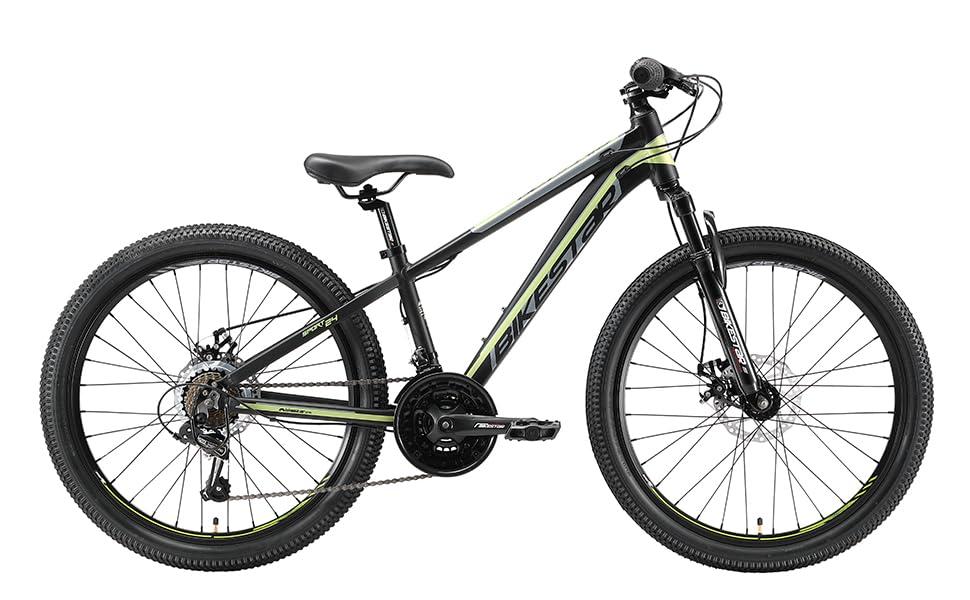 BIKESTAR Mountainbike VTT 24 pouces pour enfants avec frein à disque
