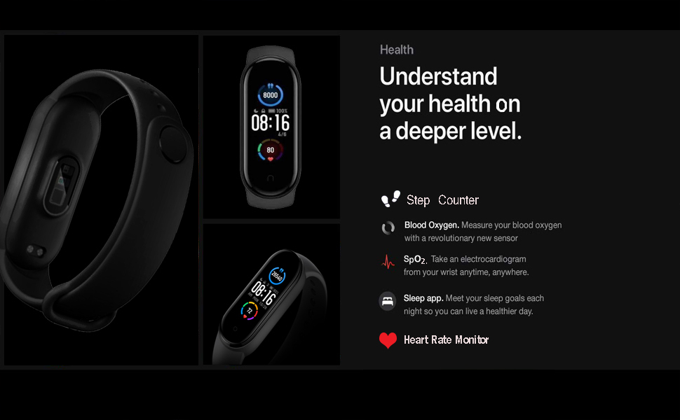 smart watch band mens wearable fitness activity tracker fitbit unisex