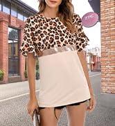 Summer Tops for Women Short Sleeve