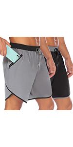 COOFANDY Men's 7quot; Gym Workout Shorts