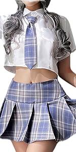 Schoolgirl Lingerie Set 1