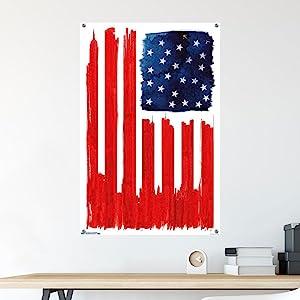 poster push pins thumb tacks home decor wall art prints living room bedroom office dorm accessories