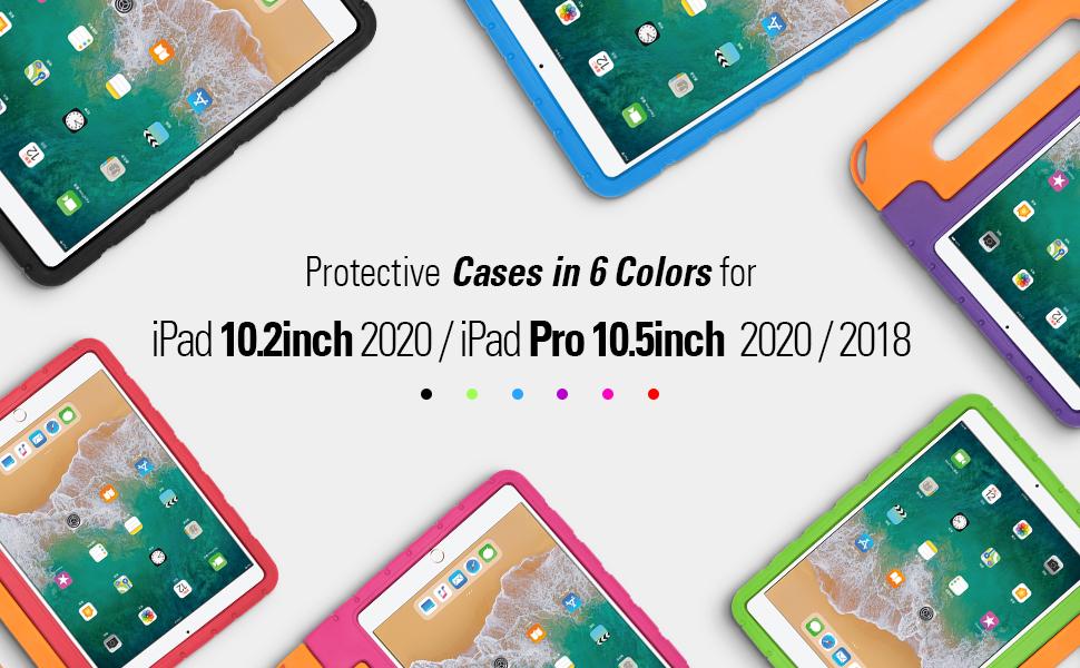 iPad colors case