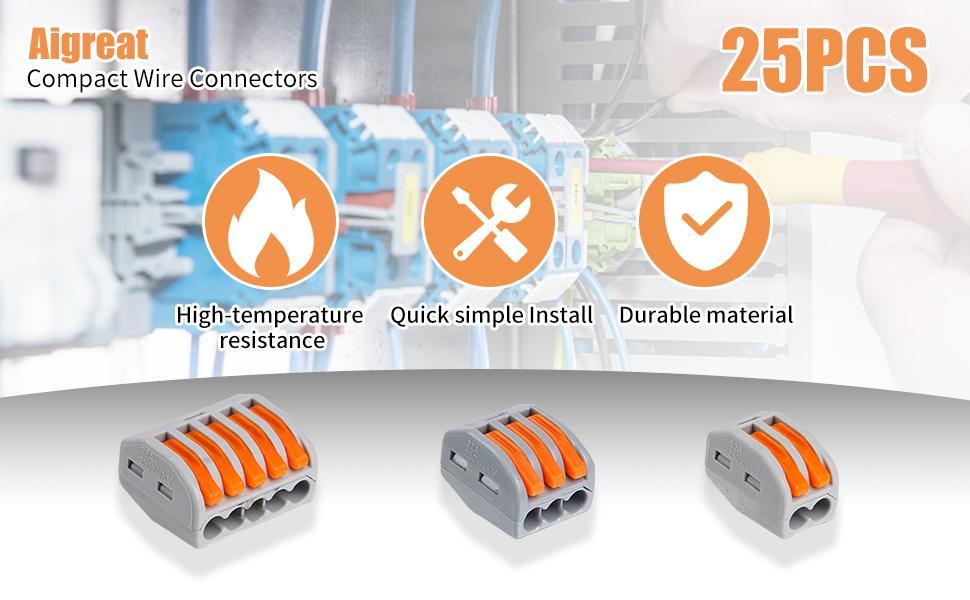 25PCS connectors