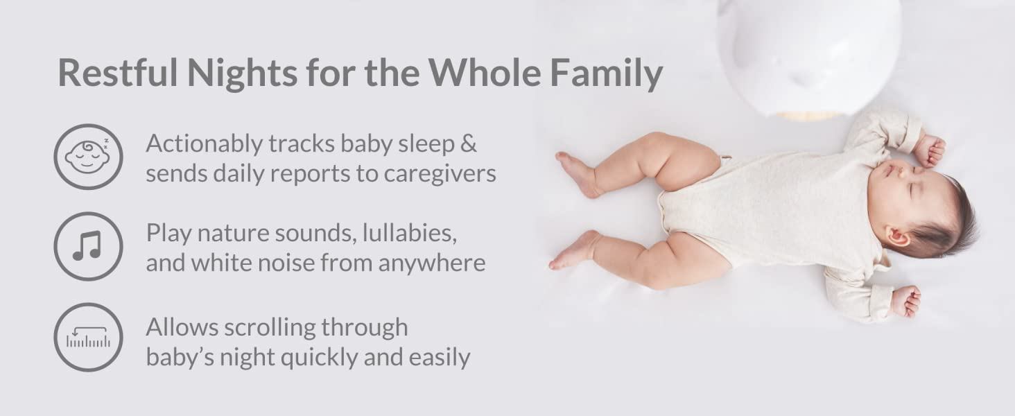 Restful Nights for the Whole Family Cubo Ai Plus Smart Baby Monitor