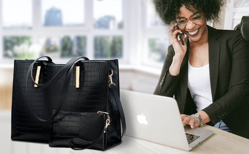 work bags for women laptop purse computer tote