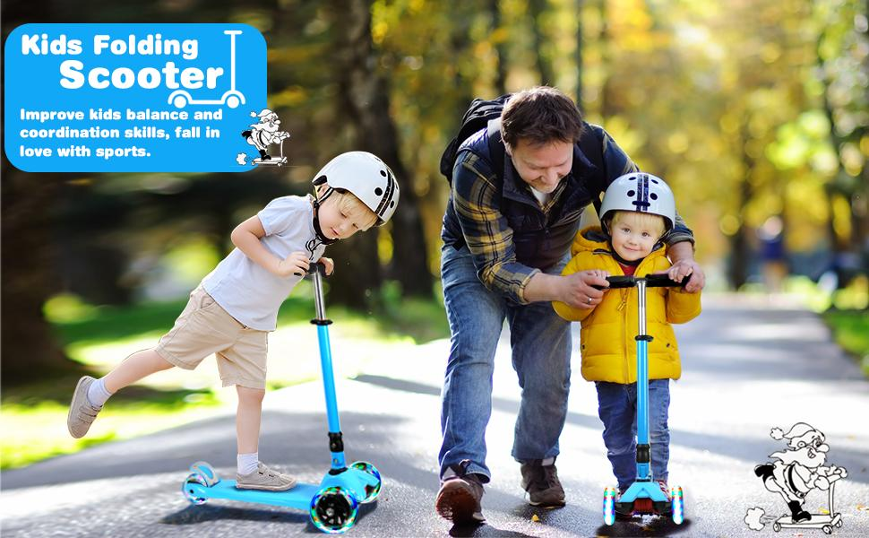 IMMEK scooter for kids ages 3-5