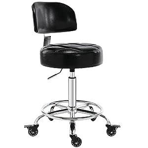 lockable rolling stool