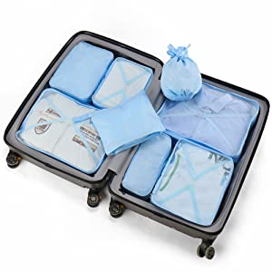packing cubes for suitcases luggage packing organizer