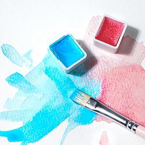 akvarellfärg set